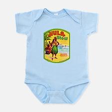 Hawaii Beer Label 2 Infant Bodysuit