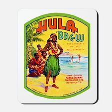 Hawaii Beer Label 2 Mousepad