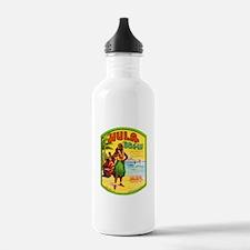 Hawaii Beer Label 2 Water Bottle