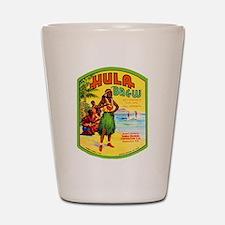 Hawaii Beer Label 2 Shot Glass