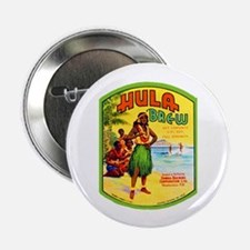 "Hawaii Beer Label 2 2.25"" Button (100 pack)"