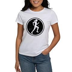 Female Runner Tee