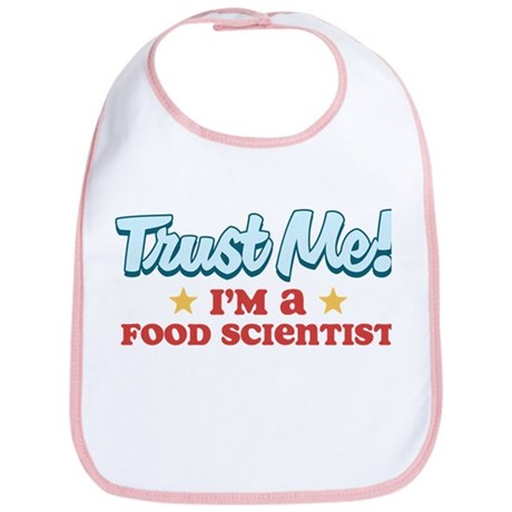Trust me Food Scientist Bib