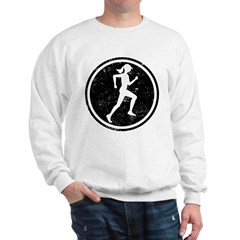 Female Runner Sweatshirt