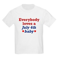 July 4th Kids T-Shirt