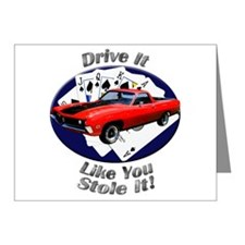 Ford Ranchero GT Note Cards (Pk of 20)