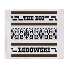 The Big Lebowski Sweater Throw Blanket