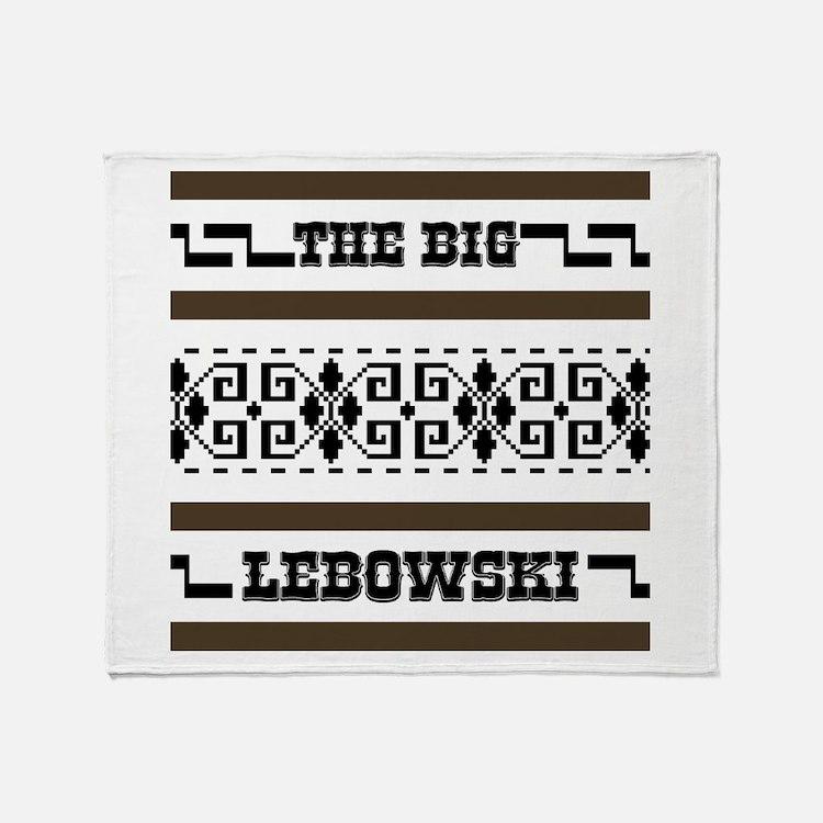 The Big Lebowski Sweater Throw Blanket