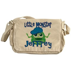 Little Monster Jeffrey Messenger Bag