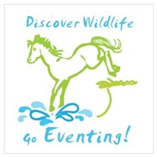 Eventing Horse Poster
