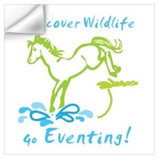 Eventing Horse Wall Decal