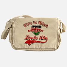 Looks like Kenyan Messenger Bag