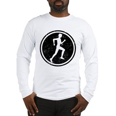 Male Runner Long Sleeve T-Shirt