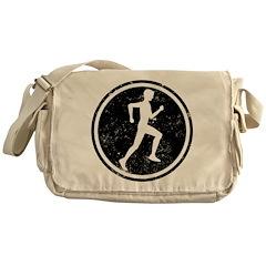 Male Runner Messenger Bag