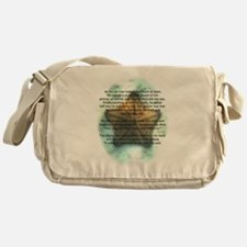 Starfish Wisdom Messenger Bag