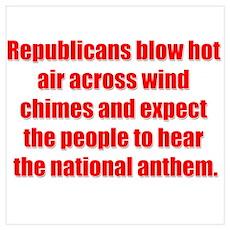 Republican Hot Air Poster