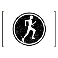 Male Runner Banner