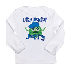 Little Monster Jerry Long Sleeve Infant T-Shirt