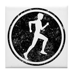 Male Runner Tile Coaster
