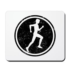 Male Runner Mousepad