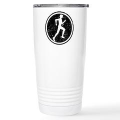 Male Runner Travel Mug