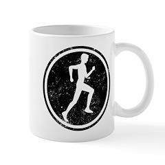 Male Runner Mug