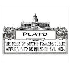 PLATO SPEAKS Poster