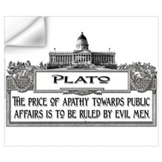 PLATO SPEAKS Wall Decal