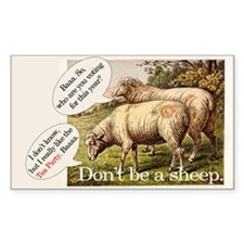 Don't be a Sheep, Decal