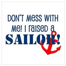 Raised a Sailor Poster