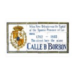 Bourbon St Tile Mural 38.5 x 24.5 Wall Peel