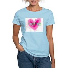 Nana Love Women's Pink T-Shirt