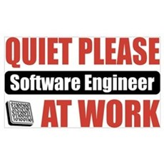 Software Engineer Work Poster