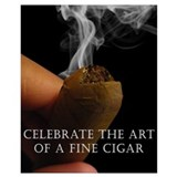 Cigar Wrapped Canvas Art