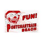 Fun Pontchartrain Beach38.5 x 24.5 Wall Peel