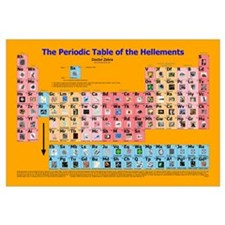 Periodic Table of the Hellements -for Misanthropes