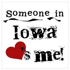 Someone in Iowa Poster