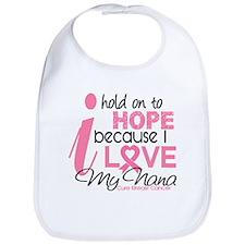 Hope For My Breast Cancer Bib