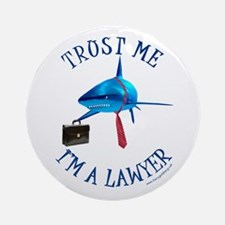I'm a Lawyer Ornament (Round)