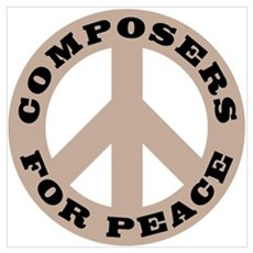 Composers For Peace Poster