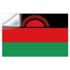 Malawaiana flag Wall Decal