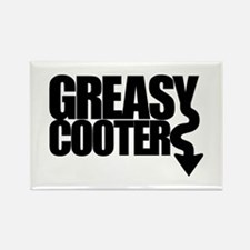 Greasy Cooter Rectangle Magnet