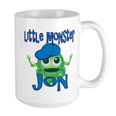 Little Monster Jon Large Mug
