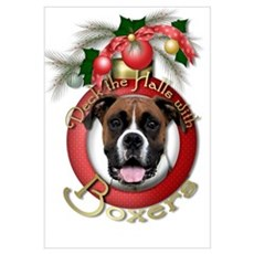 Christmas - Deck the Halls - Boxers P Poster