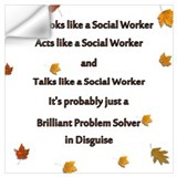 Social worker Wall Decals