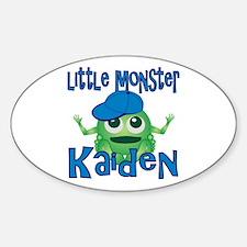 Little Monster Kaiden Sticker (Oval)