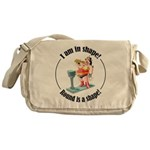 I am in shape! Messenger Bag