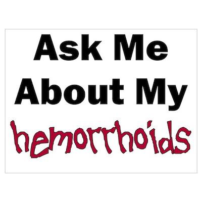 Hemorrhoids Poster