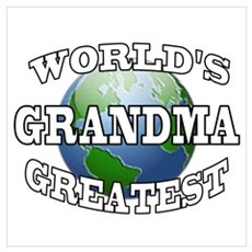 WORLD'S GREATEST GRANDMA Poster