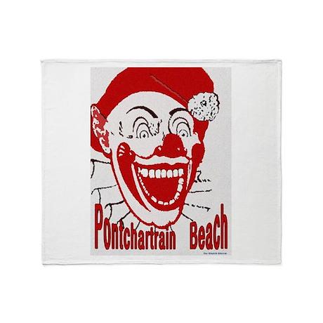 Pontchartrain Beach Throw Blanket